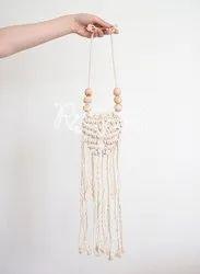 Refratexindia Cotton Best Quality Handmade Macrame Jewellery, For Self Fashion