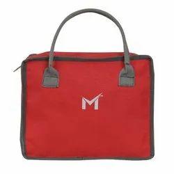 SMS BAG HOUSE Tiffin Bag For Boys & Makeup Kit Bag For Girls (RED)