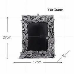 Silver Plated Photo Frame Butterfly