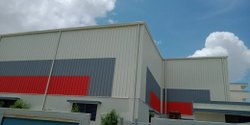 Prefab Steel Warehouse Shed, For factory