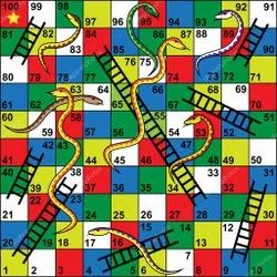 Snake And Ladder Game Board