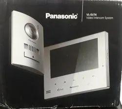 LCD Screen White Panasonic Video Door Phone Vl SW274, For Home