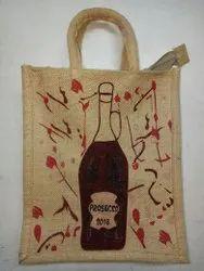 Red Polyester Jute Bag Manufacturer, Size: Standard