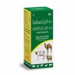 Enrofloxacine-20%, Non prescription, Packaging Type: Bottle