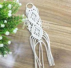 Handmade Macrame Key Ring