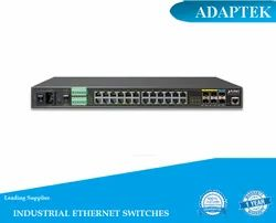 Black LAN  Capable Industrial Managed Ethernet Switch