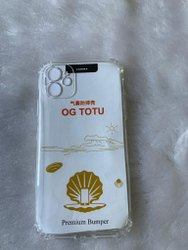 Plastic Transparent Phone Cover For iPhone 11