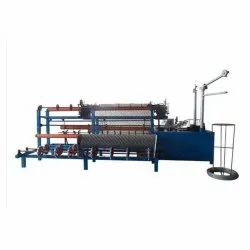 Fully Automatic Double Wire Chain Link Fencing Machine