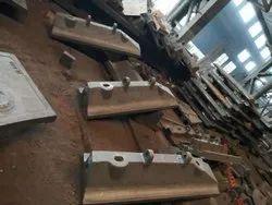 Rectangular Gray Shell Liner Steel Casting