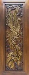 Brown Wooden Carved Doors, For Home