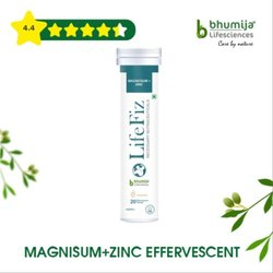 Magnsium   Zinc Effervescent Tablets 20's