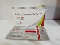 800 mg Aciclovir Dispersible Tablet