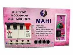 Mahi Electronic Four Pole 63A Three Phase ELCB