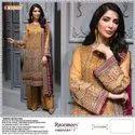 Fepic Rosemeen Meenara Georgette and Organza Pakistani Style Suit Catalog