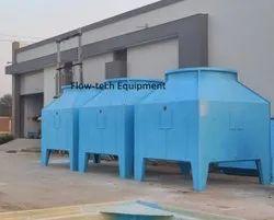 Flow-tech Equipment Fiberglass Reinforced Polyester Cross Flow FRP Cooling Tower, Square