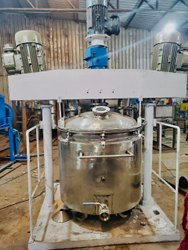 Automatic Mild Steel Chemical Mixer, For Industrial, Capacity: 500 L