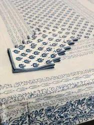 Presenting Pure Cotton Hand Block Printed Dinning Set