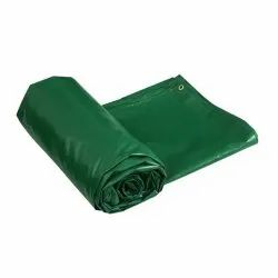 ARS Tarps Green Waterproof PVC Tarpaulin, Thickness: 2 Mm, Size: 12 X 12 Feet