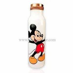 Kids Pure Copper Bottle with Sipper