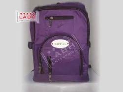 Labh Enterprise Polyester Purple School Bag