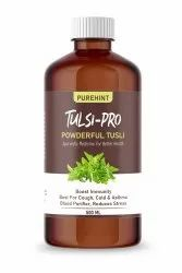 Purehint Tulsi Pro Cough Syrup, For Personal, Packaging Size: 500 Ml