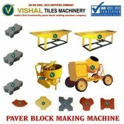 Footpath Tiles Making Machine