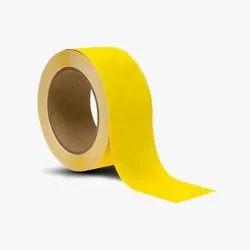 Vinyl Floor Marking Tape Yellow