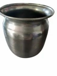 1 Litre Stainless Steel Lota, For Pooja