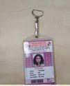 Vertical Transparent PVC Card Holders