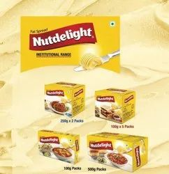 Nutdelight Fat Spread 500 Gms, Packaging Type: Box, Flavor: Salted