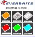 2835 3V 150 Ma Red 0.5 WATT Everbrite