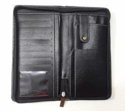 Passport Holder With Zipper