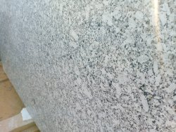 P White Granite Slab, Thickness: 15-20 mm
