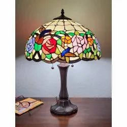 Stained Glass Tiffany Lamp
