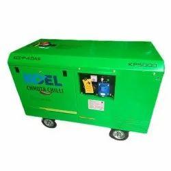 5 kVA KP 5000 Koel Chhota Chilli Generator, 1 Phase