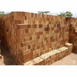 Rectangular Ceramic Refractory Fire Bricks Standard 3 Inch