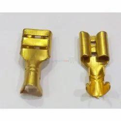 Golden Brass Thimble