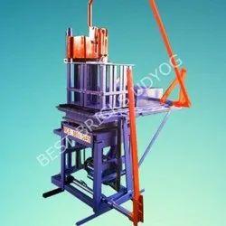 6 Cavity Manual Fly Ash Bricks Making Machine