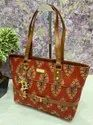 Ikkat Ladies Handbag