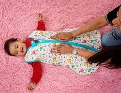 Baby Sleeping Bag Made In Soft Cotton Fabric