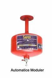 Mild Steel A B C Dry Powder Type 5Kg Safex Automatic Modular Fire Extinguisher