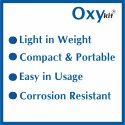Oxykit Portable Medical Oxygen Cylinders (150 Liters)