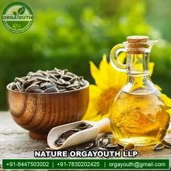 Liquid Organic Cold Pressed Sunflower Oil, For Kitchen Use, Packaging Size: 15 Ltr