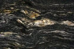 Cosmic Black Granite, Slab, Thickness: 15-20 mm