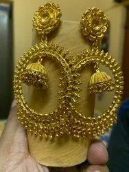 Golden Wedding,Festival Fashion Earring Set