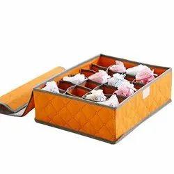 24 Grid Storage Organizer Container Drawer Closet Foldable Storage - 24 Grid Organizer