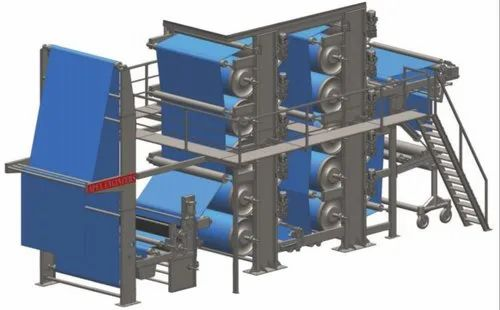 Vertical Drying Range Machine