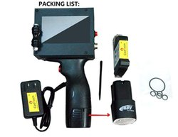 Water Bottle MRP / Batch Coding Machine