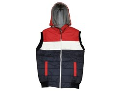 Mens Sleeveless Jacket, Size: S-XXL