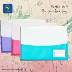 Duotone Clear PVC Bag